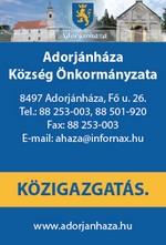 Adorjánháza Község Önkormányzata