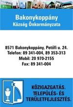 Bakonykoppány Község Önkormányzata