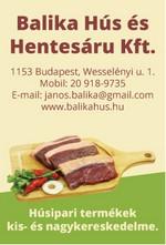 Balika Hús és Hentesáru Kft.