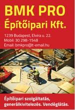 BMK PRO Építőipari Kft.