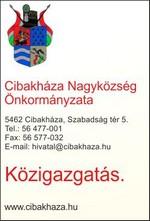 Cibakháza Nagyközség Önkormányzata