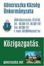 Göncruszka Község Önkormányzata