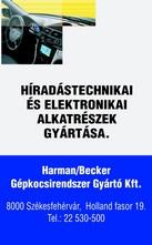 Harman/Becker Gépkocsirendszer Gyártó Kft.