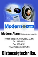Modern Alarm Biztonságtechnikai Kft.