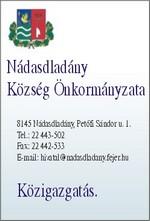 Nádasdladány Község Önkormányzata