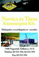 Novics és Társa Közműépítő Kft.